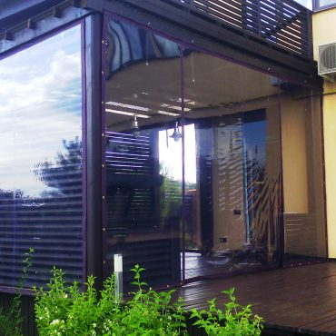 Увеличение площади для приема гостей - Мягкие окна Полтава